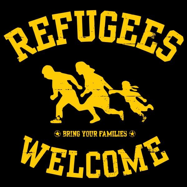Bildergebnis für refugees welcome